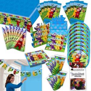 Teletubbies: Geburtstags-Box für 8 Kinder