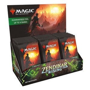 Magic the Gathering: Zendikars Erneuerung - Set-Booster Display - EN