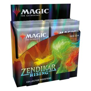 Magic the Gathering: Zendikars Erneuerung - Sammler Booster Display - EN