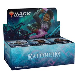 Magic the Gathering: Kaldheim - Draft-Booster Display - EN