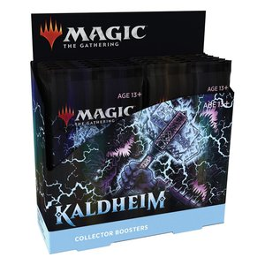 Magic the Gathering: Kaldheim - Sammler-Booster Display - EN