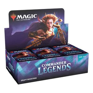 Magic the Gathering: Commander Legenden - Draft-Booster Display - EN