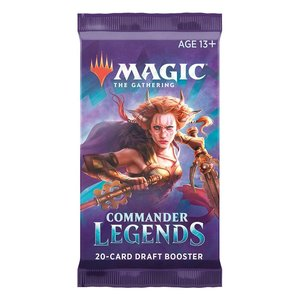 Magic the Gathering: Leggende di Commander - Draft-Booster Display - EN