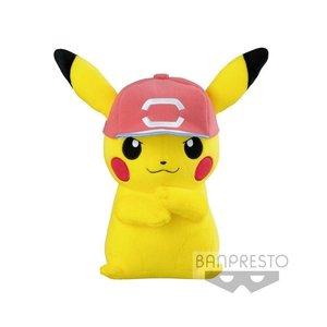 Pokémon: Pikachu with Cap 26 cm