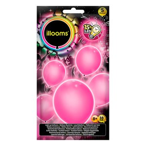 Illooms: Pink Dream - LED (5er Set)