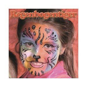 Motiv-Set: Regenbogen-Tiger