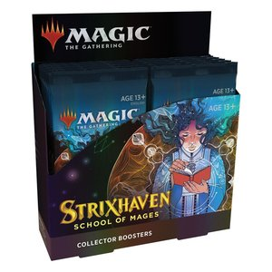 Magic the Gathering: Strixhaven: Akademie der Magier - Sammler-Booster Display - EN