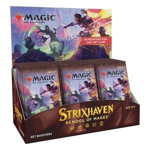 Magic the Gathering: Strixhaven: Akademie der Magier - Set-Booster Display - EN