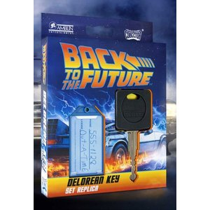 Retour vers le futur: 1/1 DeLorean Clé de Voiture