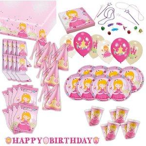 Prinzessin: Geburtstags-Box für 8 Kinder