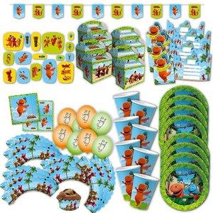 Der kleine Drache Kokosnuss: Geburtstags-Box für 8 Kinder