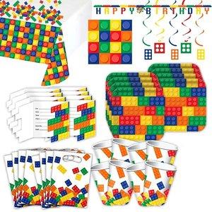 Briques a empiler: Box d'anniversaire pour 8 enfants