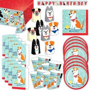Hunde: Geburtstags-Box für 8 Kinder