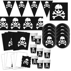 Piraten: Geburtstags-Box für 6 Kinder