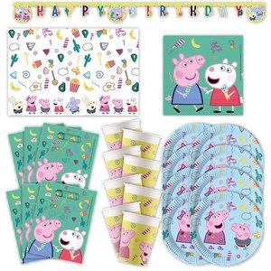 Peppa Wutz: Geburtstags-Box für 6 Kinder