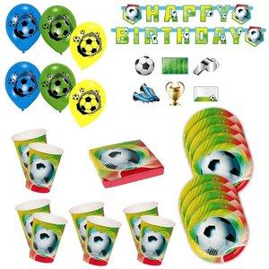 Calcio: Box per il compleanno per 6 bambini
