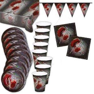 Blutig: Halloween-Box für 8 Gäste