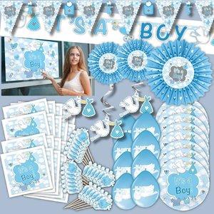 Baby Shower - Babyparty: Geburts-Box für Jungs