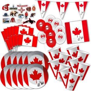 Box de Party Canada pour 10 invités