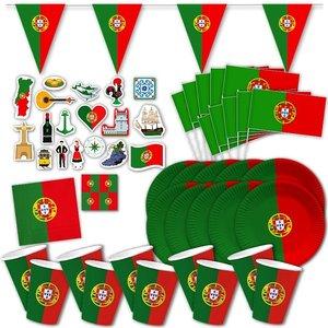 Portugal-Party Box für 10 Gäste