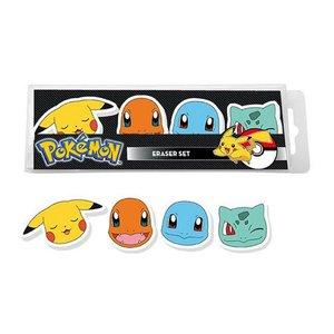 Pokémon: Pikachu & Friends (4 Pezzi)