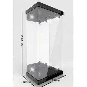 Display Case avec éclairage pour figurines d'action 1/4
