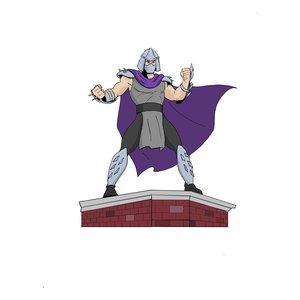 Teenage Mutant Ninja Turtles: Shredder 1/8