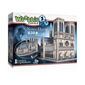 Castles & Cathedrals: Notre-Dame de Paris (830 Pezzi)
