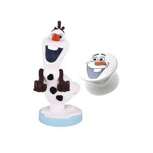 La Reine des neiges: Olaf - Cable Guy & Pop Socket