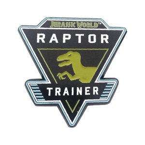 Jurassic World: Raptor Trainer Pin