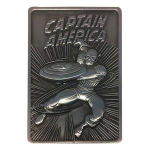 Marvel - Lingot: Captain America - Limited Edition