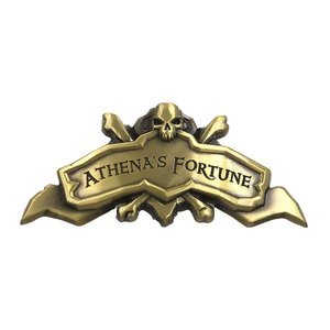 Sea of Thieves: Athena's Fortune Ship Plaque