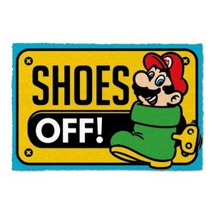 Super Mario: Shoes Off
