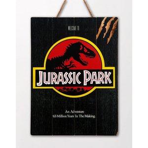 Jurassic Park: Logo - WoodArts 3D