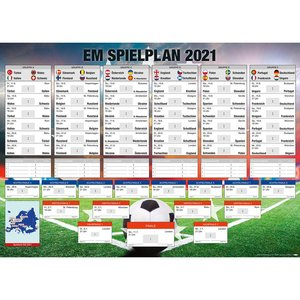 Calendario: Campionato europeo 2021 XXL - DE