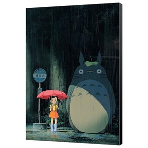 Mein Nachbar Totoro: Bus Station in the Rain