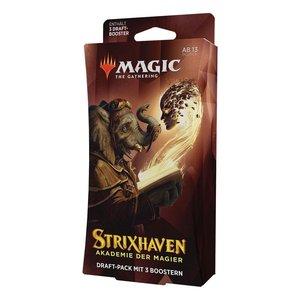 Magic the Gathering: Strixhaven: Akademie der Magier - Draft-Booster 3er Display - DE