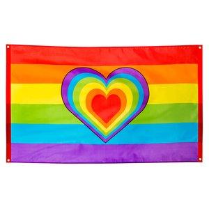 Regenbogen Herz - Peace