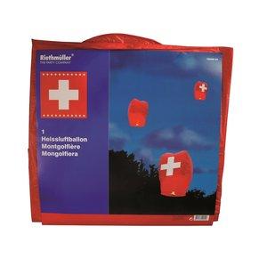 Bandiera Svizzera - 1 Agosto - Lanterna Volante
