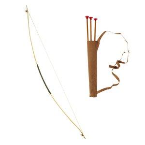 Jagd-Bogen mit Köcher und Pfeilen