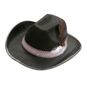 Cowboy con le piume