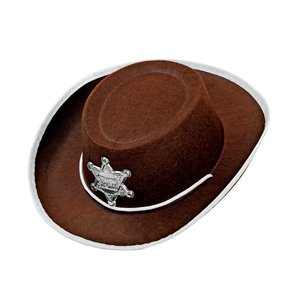 Cowboy con la stella da sceriffo