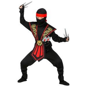 Ninja de Kombat avec ensemble d'armes