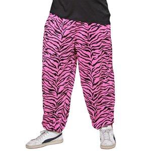 Anni '80 - Pantaloni a zebra rosa