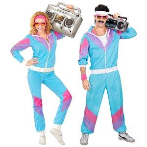 anni 80 - Abbigliamento sportivo blu