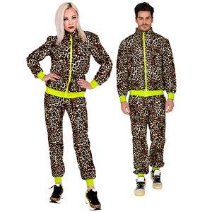Anni 80 - Abbigliamento sportivo leopardo