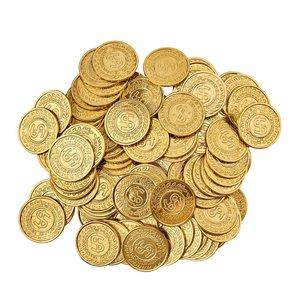 100 monete d'oro