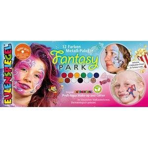 Palette en metal 10 couleurs - Fantasy Park