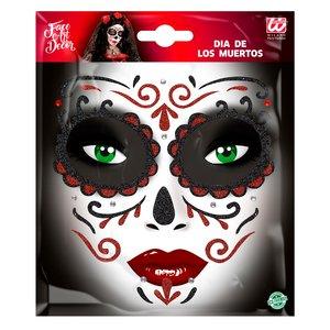 Glitter Sticker - Tag der Toten - Dia des los Muertos