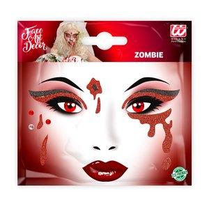 Glitter Sticker - Blut